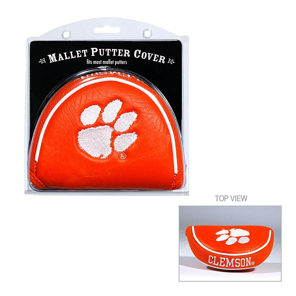 Team Golf USA Clemson University Tigers Mallet Putter Cover Team Color - Team Golf USA Golf Bags