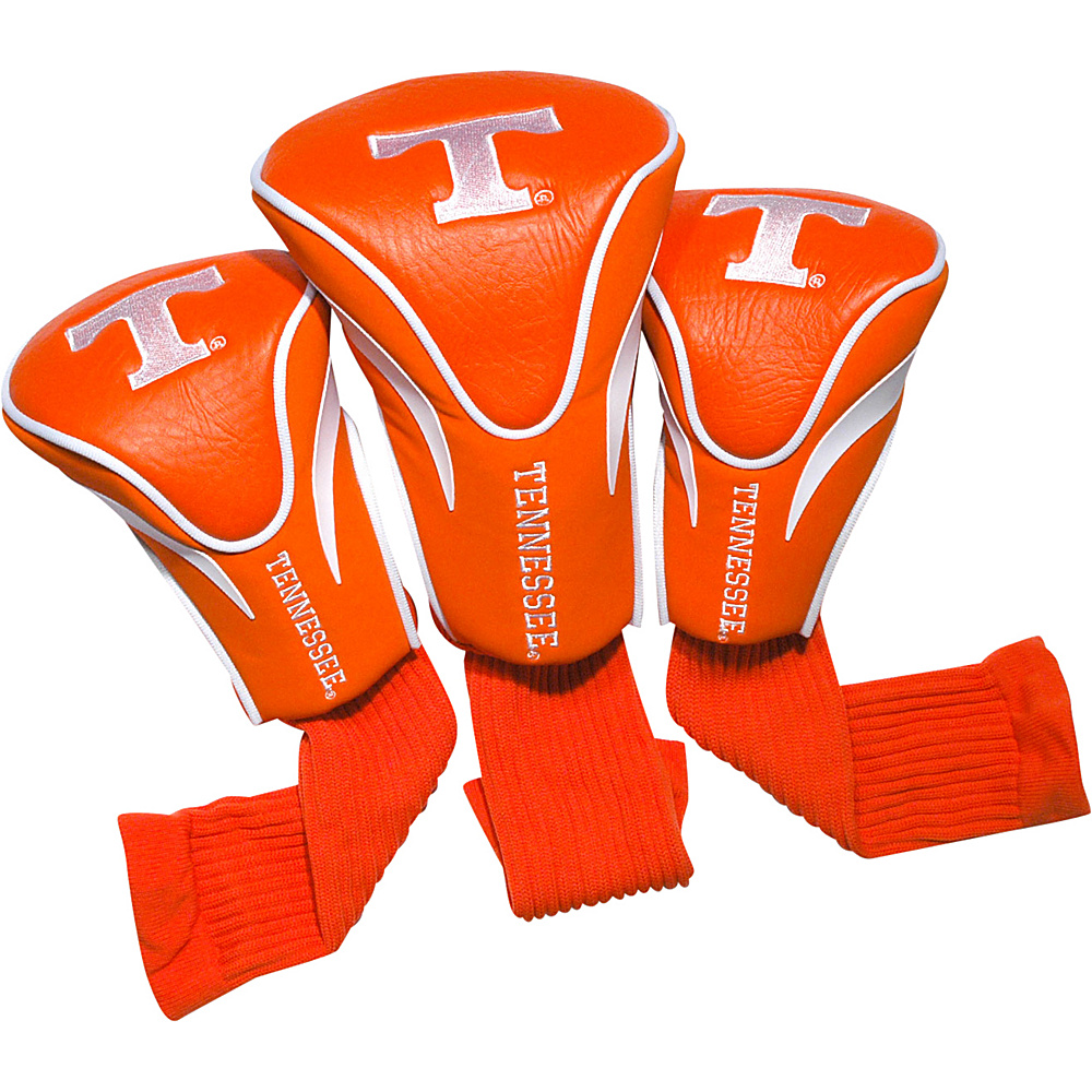 Team Golf USA University of Tennessee Volunteers 3 Pack Contour Headcover Team Color - Team Golf USA Golf Bags