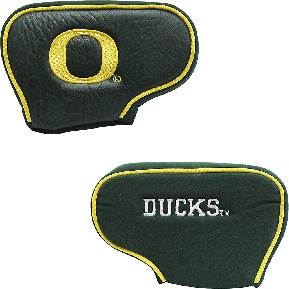 Team Golf USA University of Oregon Ducks Blade Putter Cover Team Color - Team Golf USA Golf Bags
