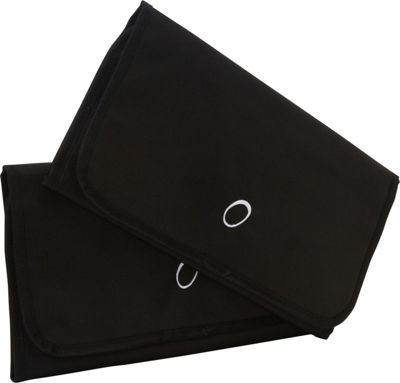 Obersee Baby Changing Mat - Black - 2 Pack Black - Obersee Diaper Bags & Accessories 10249806
