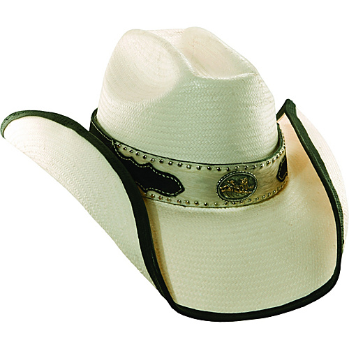 Scala Hats Toyo Cattleman w/ Horsehair NATURAL-MEDIUM - Scala Hats Hats