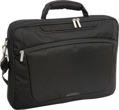 Sumdex New Passage - Computer Brief- 15.6 PC Jet Black - Sumdex Non-Wheeled Computer Cases