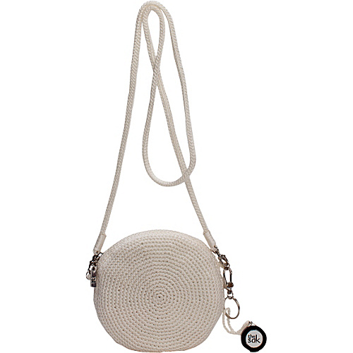 The Sak The Sak Classic Mini Convertible Round Crossbody Pearl - The Sak Fabric Handbags