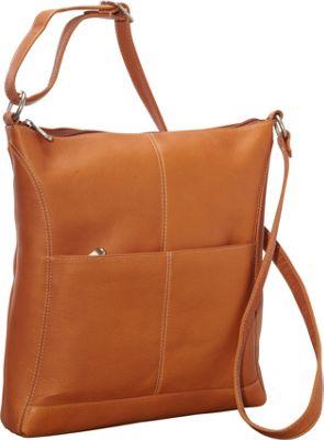 Le Donne Leather Easy Slip Crossbody Tan - Le Donne Leather Leather Handbags