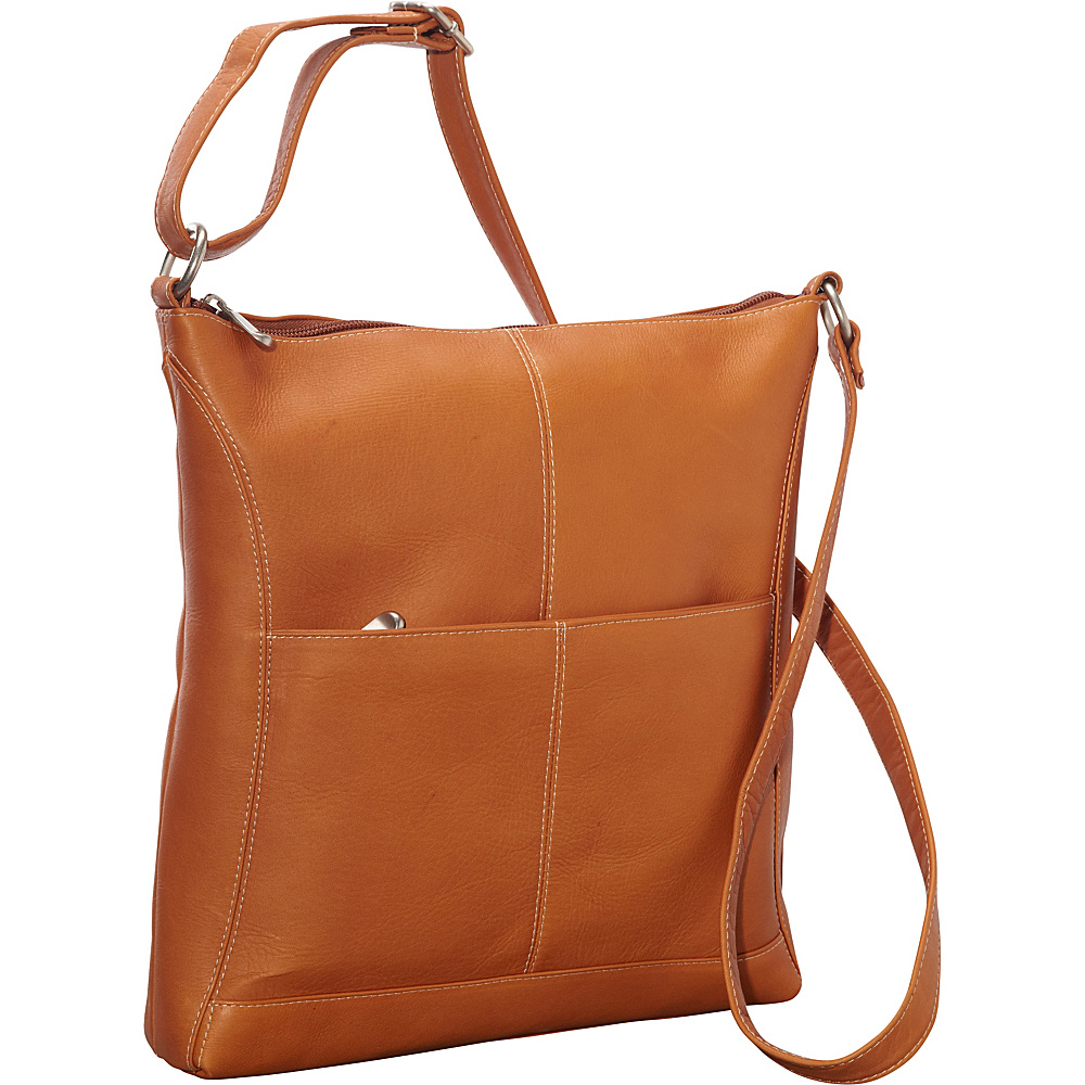 Le Donne Leather Easy Slip Crossbody Tan - Le Donne Leather Leather Handbags - Handbags, Leather Handbags