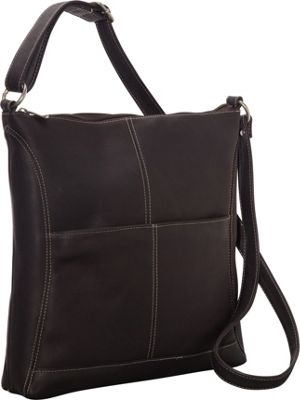 Le Donne Leather Easy Slip Crossbody Cafe - Le Donne Leather Leather Handbags
