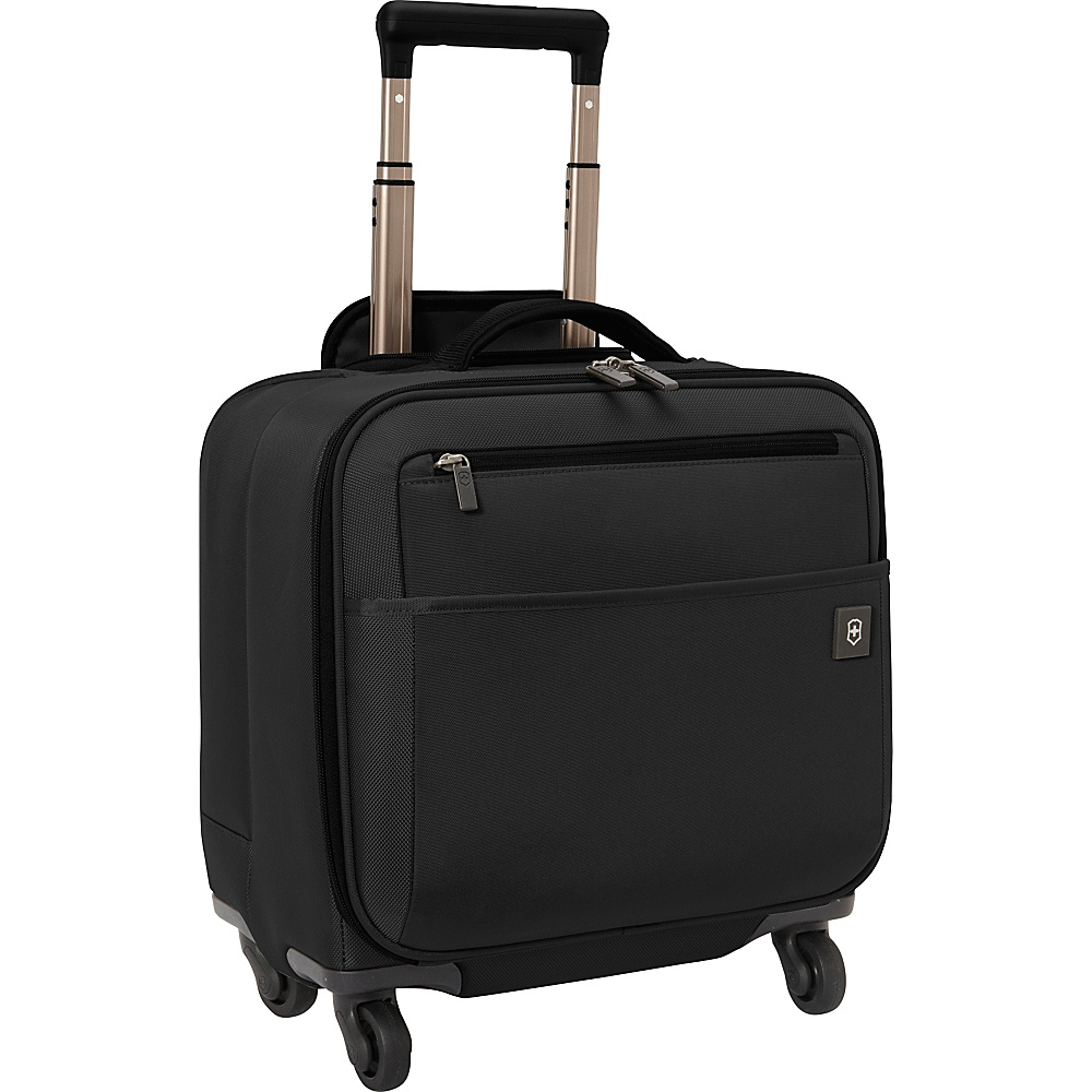 Victorinox Avolve 2.0 Wheeled Boarding Tote Black/Black - Victorinox Luggage Totes and Satchels