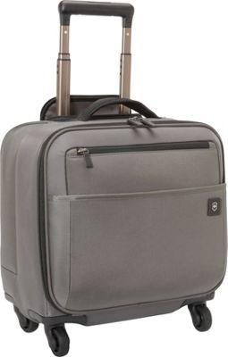Victorinox Avolve 2.0 Wheeled Boarding Tote Grey - Victorinox Luggage Totes and Satchels