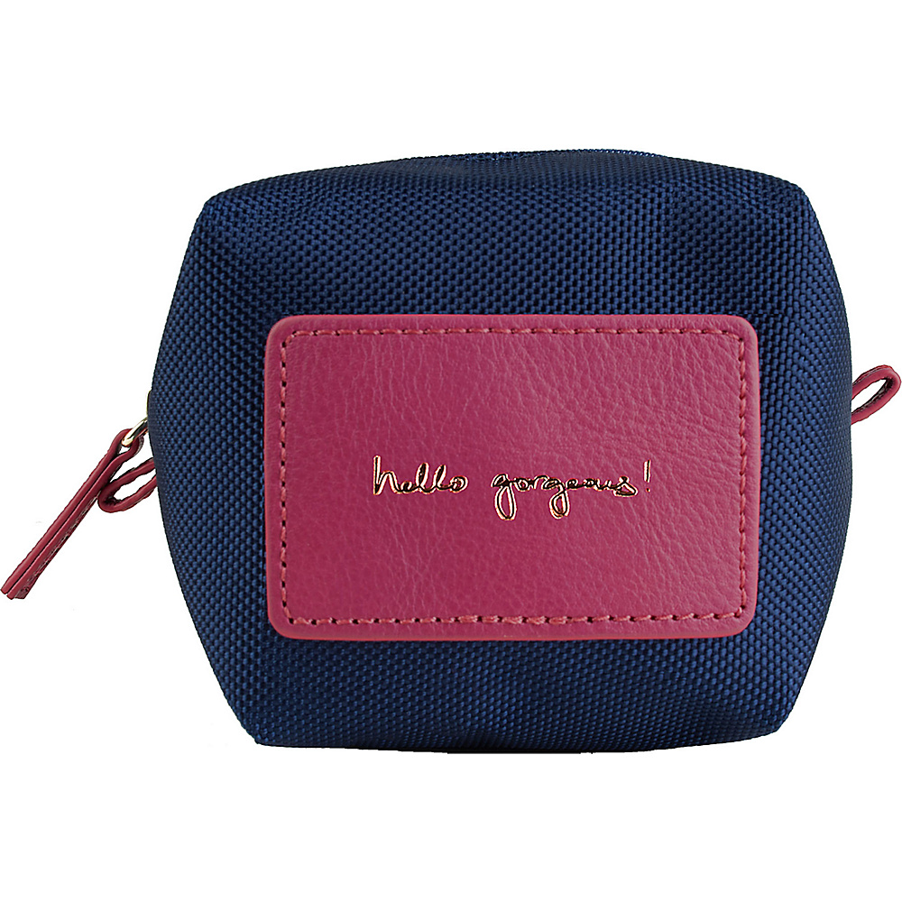 Boulevard hello gorgeous! Origami Pouch Sangria (Navy/Berry) - Boulevard Women's SLG Other