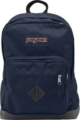 JanSport City Scout Laptop Backpack Navy - JanSport Business & Laptop Backpacks