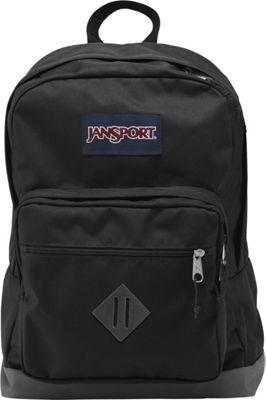 JanSport City Scout Laptop Backpack Black - JanSport Business & Laptop Backpacks
