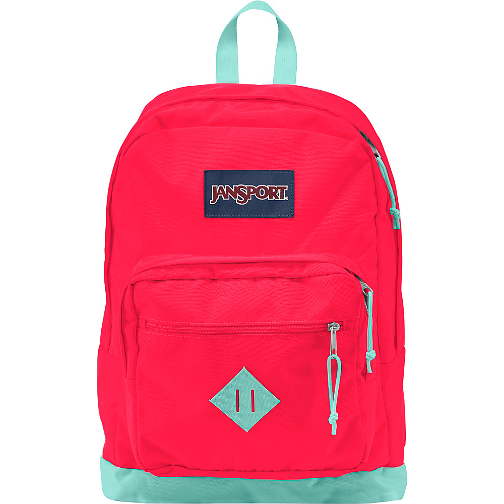 JanSport City Scout Laptop Backpack Fluorescent Red - JanSport Business & Laptop Backpacks - Backpacks, Business & Laptop Backpacks