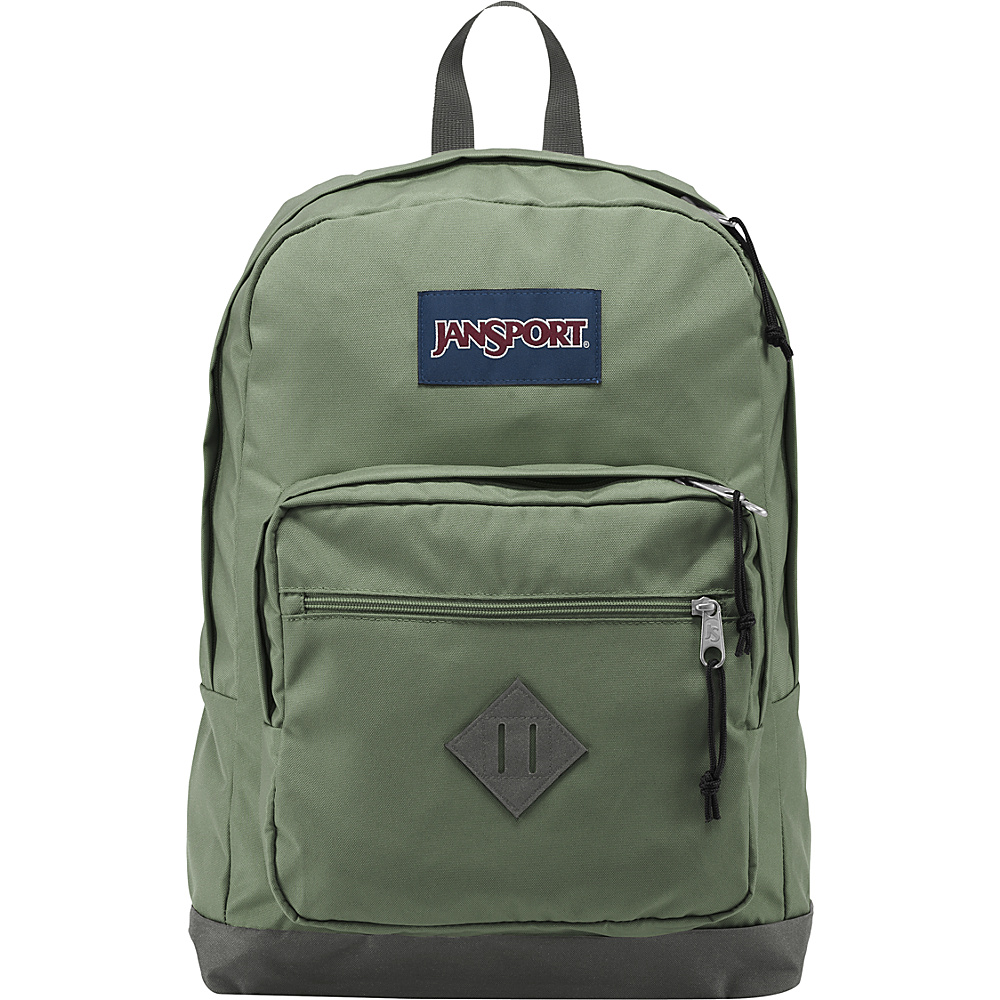 JanSport City Scout Laptop Backpack Muted Green - JanSport Business & Laptop Backpacks