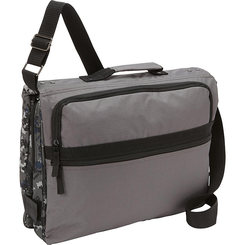 Bellino Reversible Checkpoint Friendly Laptop Messenger - Camo Camo - Bellino Messenger Bags