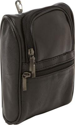 Bellino Leather Golf Pouch Black - Bellino Sports Accessories