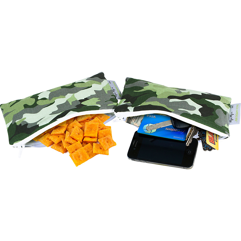 Itzy Ritzy Snack Happens Mini Bag, 2-Pack Camo – Itzy Ritzy Diaper and Baby Accessories