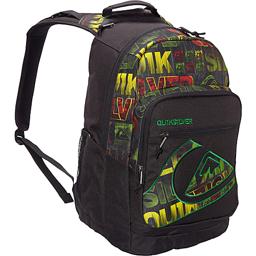 Quiksilver Schoolie Good Day Rasta - Quiksilver School & Day Hiking Backpacks