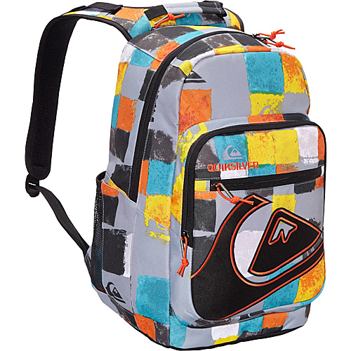 Quiksilver Schoolie Plasma Quartz - Quiksilver School & Day Hiking Backpacks