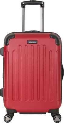 Kenneth Cole Reaction Renegade 20 inch Carry On Upright Red - Kenneth Cole Reaction Hardside Carry-On