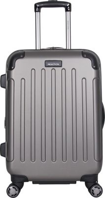 Kenneth Cole Reaction Renegade 20 inch Carry On Upright Gray - Kenneth Cole Reaction Hardside Carry-On