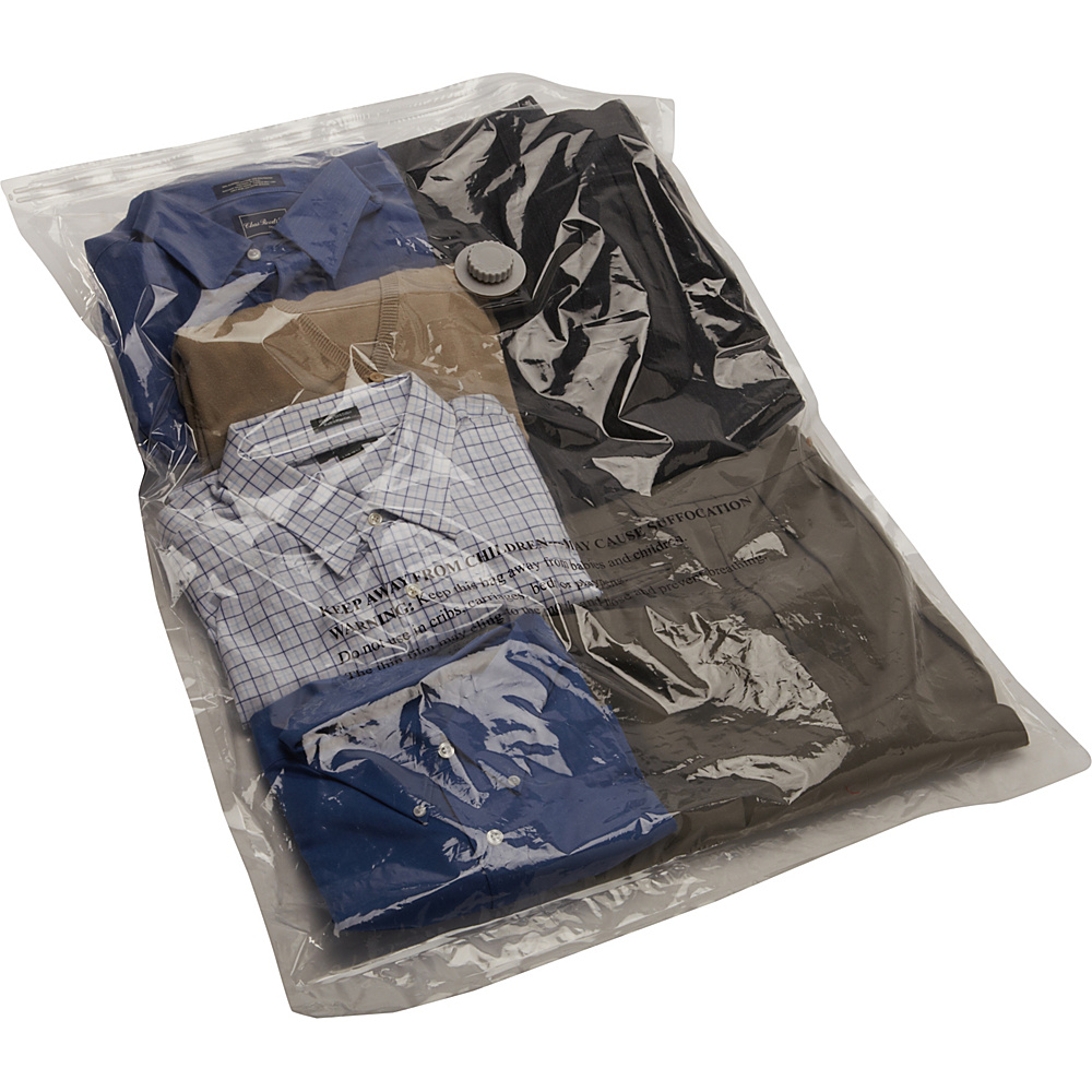 Samsonite Travel Accessories Compression Bags 12 Piece Kit Clear - Samsonite Travel Accessories Packing Aids