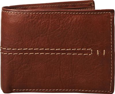 Relic Channel Traveler Wallet Brown - Relic Men's Wallets