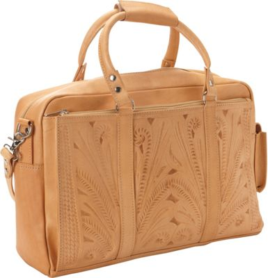 Ropin West Tote Brief Natural - Ropin West Non-Wheeled Business Cases