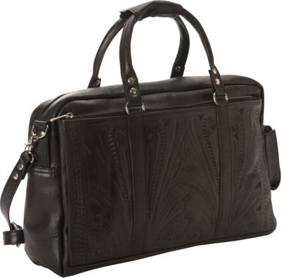 Ropin West Tote Brief Black - Ropin West Non-Wheeled Business Cases