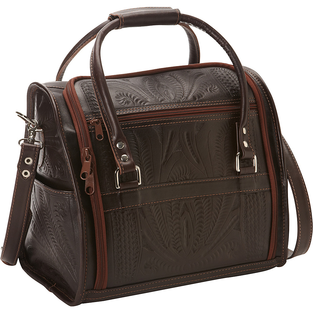 Ropin West Vanity Case Brown Ropin West Luggage Accessories