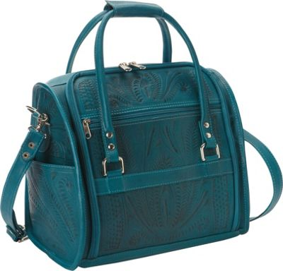 Ropin West Vanity Case Turquoise - Ropin West Luggage Accessories