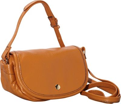 Clava Page Leather Mini Crossbody Tan - Clava Leather Handbags