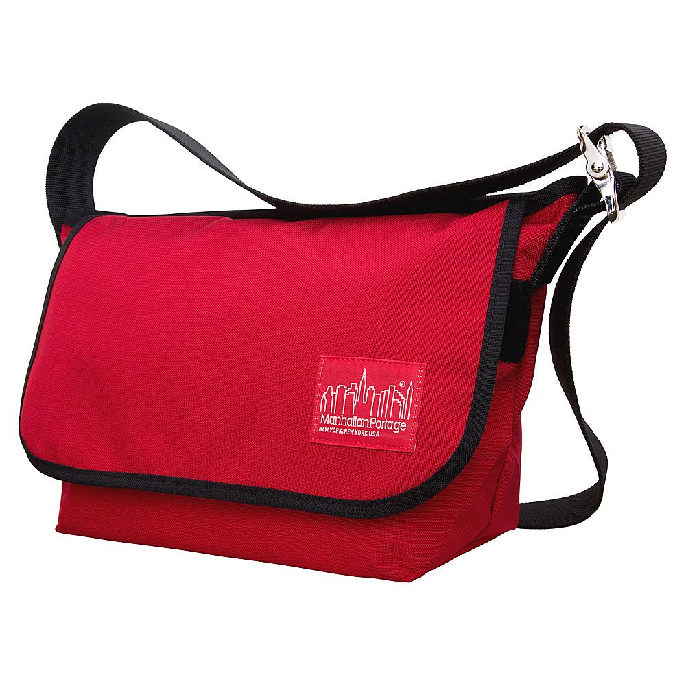 Manhattan Portage Vintage Messenger Bag JR. (M) Red - Manhattan Portage Messenger Bags - Work Bags & Briefcases, Messenger Bags