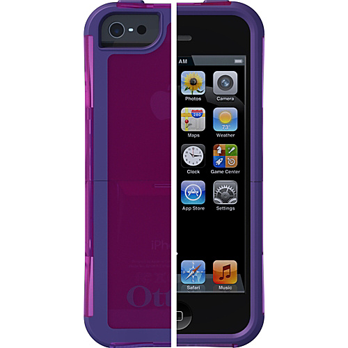 OtterBox Reflex Series for Apple iPhone 5 Zing (Pop Purple Translucent/Violet Purple) - OtterBox Personal Electronic Cases