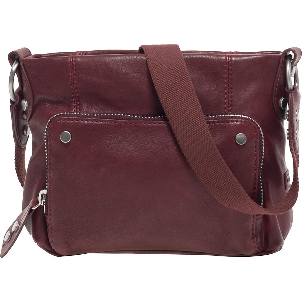 Ellington Handbags Eva Crossbody Oxblood - Ellington Handbags Leather Handbags