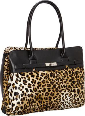 Digital Treasures Designer Fashion Laptop Tote Leopard - Digital Treasures Women's Business Bags