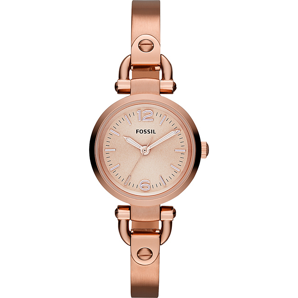 Fossil Georgia Mini Rose Gold - Fossil Watches - Fashion Accessories, Watches