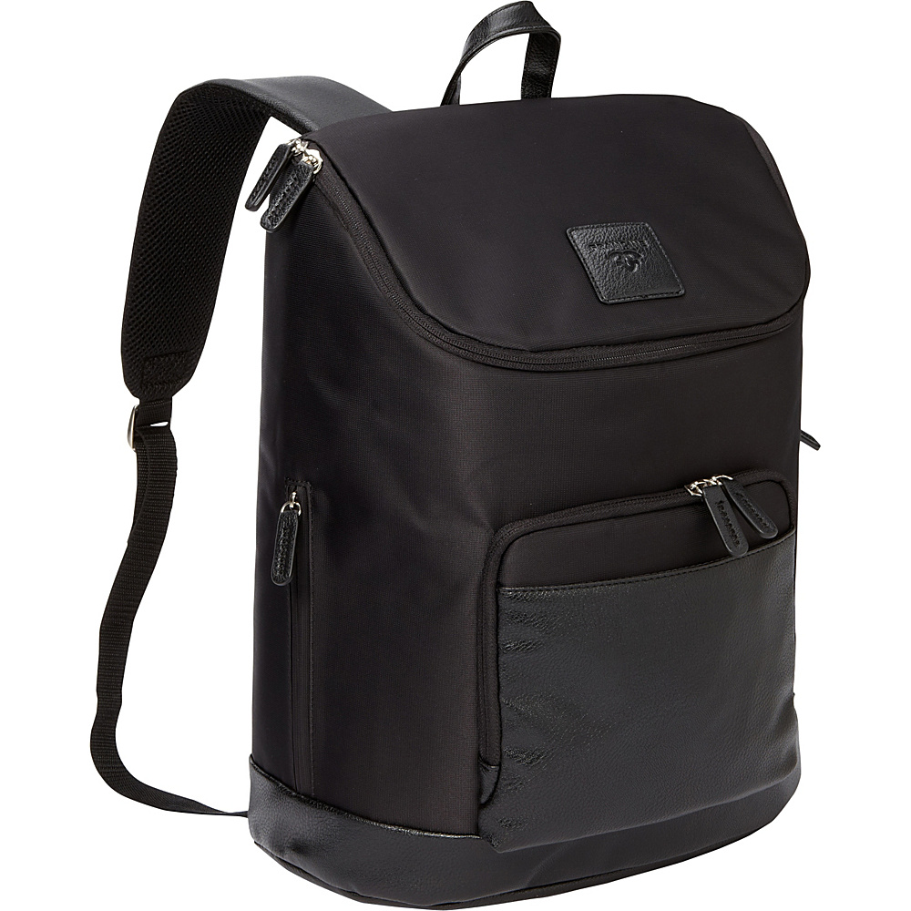 "Women In Business Francine Collection - 16"" Tribeca Laptop Backpack Black - Women In Business Business & Laptop Backpacks"