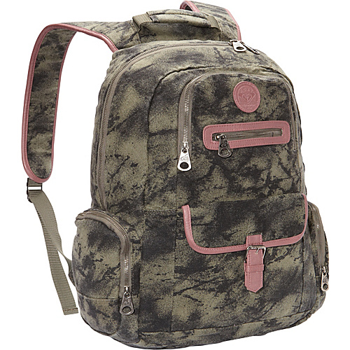 Roxy Ship Out Backpack Grape Leaf - Roxy School & Day Hiking Backpacks