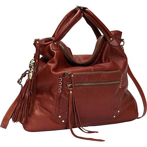 Lucky Brand Delray Tote Brandy - Lucky Brand Leather Handbags