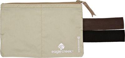 Eagle Creek RFID Blocker Hidden Pocket Tan - Eagle Creek Travel Wallets