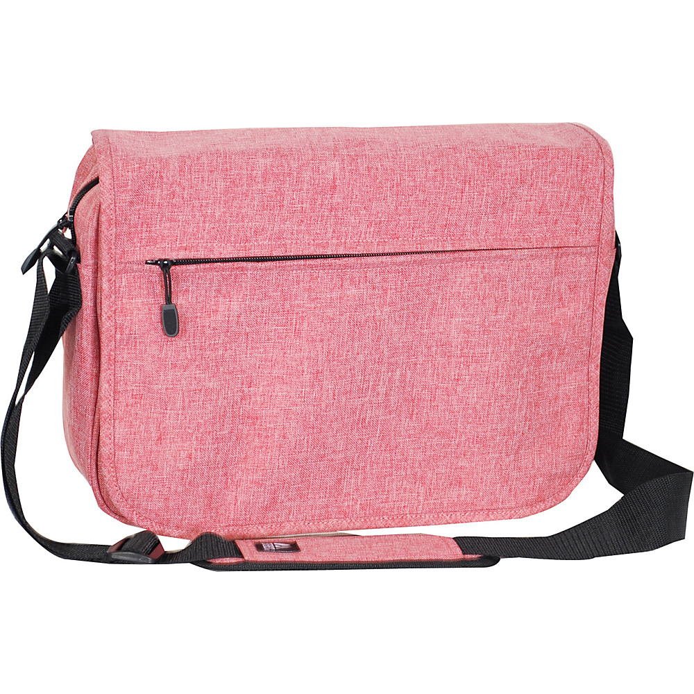 Everest Deluxe Laptop Messenger Coral - Everest Messenger Bags