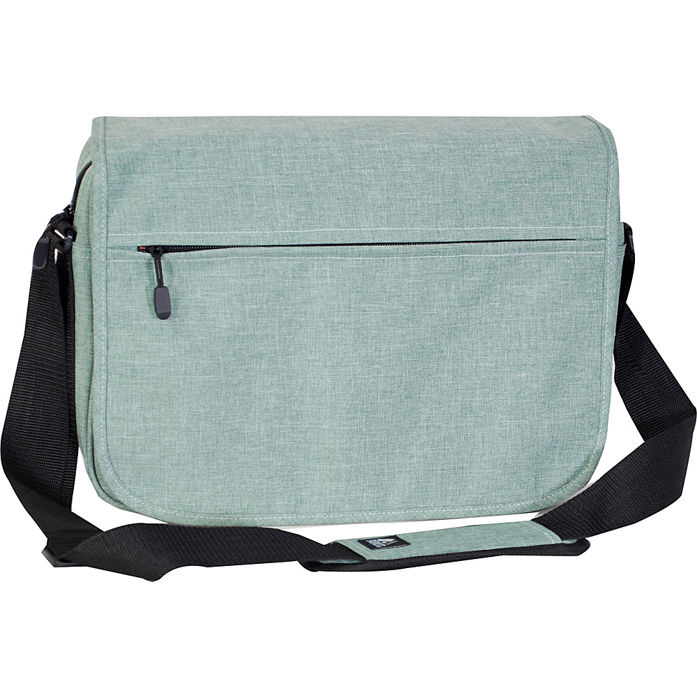 Everest Deluxe Laptop Messenger Jade - Everest Messenger Bags - Work Bags & Briefcases, Messenger Bags