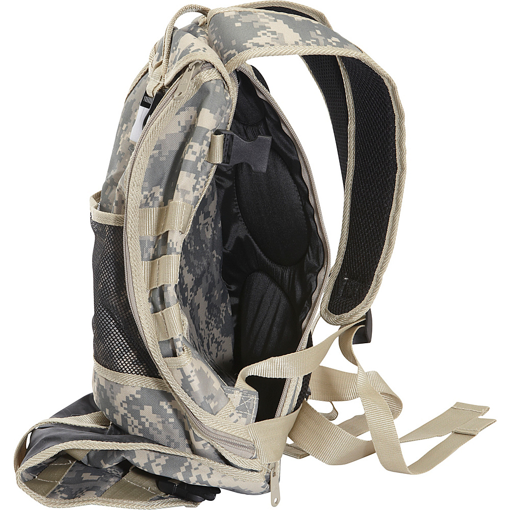Everest Technical Hydration Backpack Digital Camo - Everest Hydration Packs and Bottles