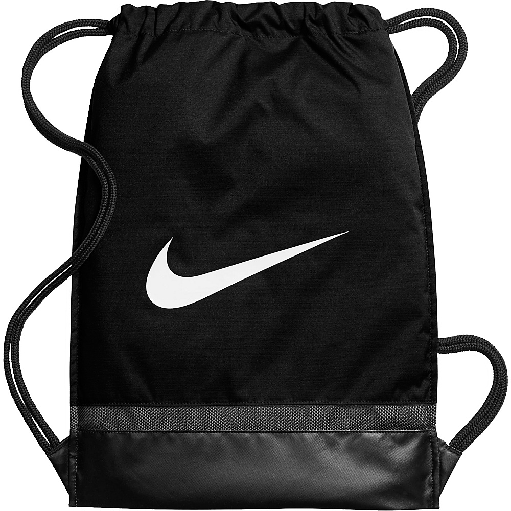 Nike Brasilia Gymsack Black Black White Nike Everyday Backpacks