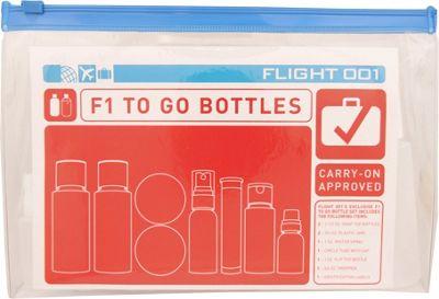 Flight 001 To Go Bottles & Jars Clear - Flight 001 Toiletry Kits