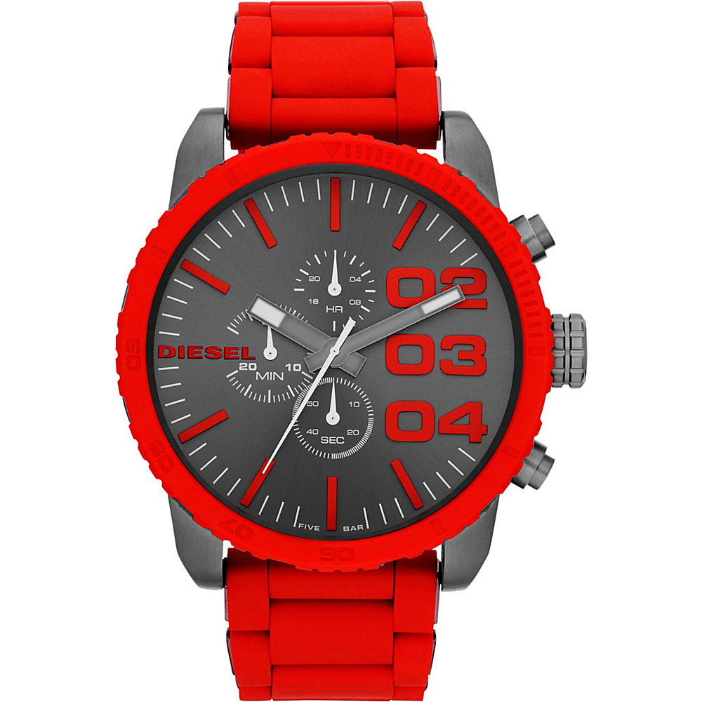 Diesel Watches Franchise Red Gunmetal Diesel Watches Watches