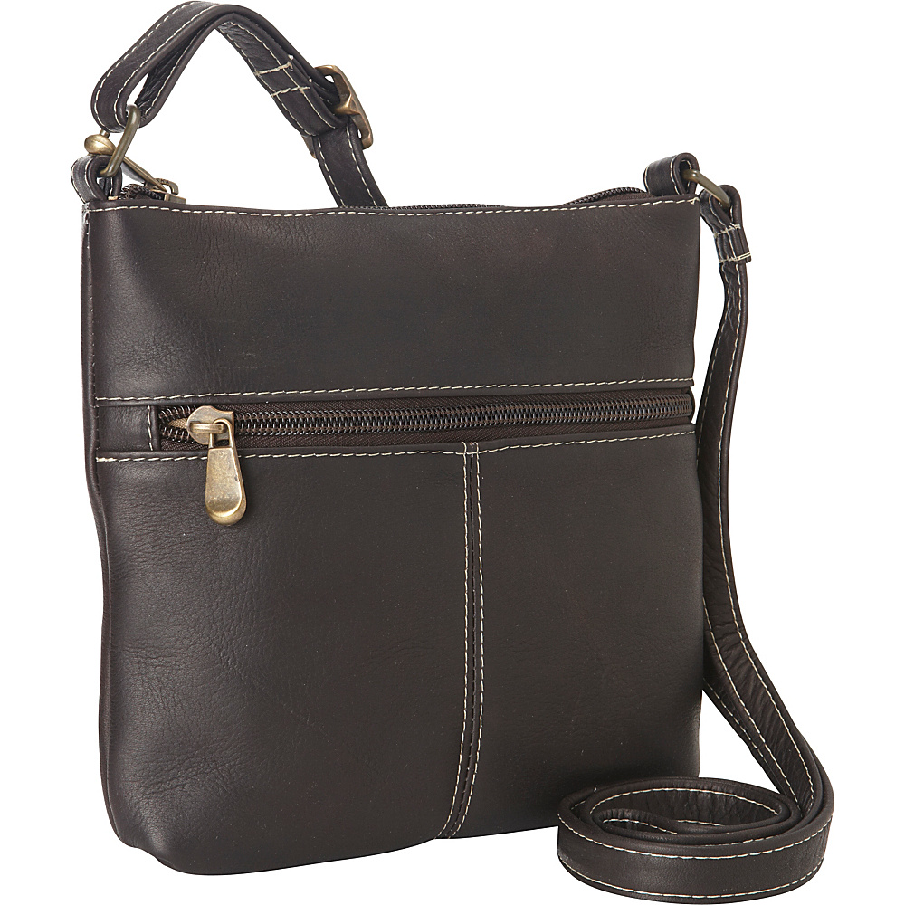 Le Donne Leather Lifestyle Crossbody Cafe - Le Donne Leather Leather Handbags - Handbags, Leather Handbags