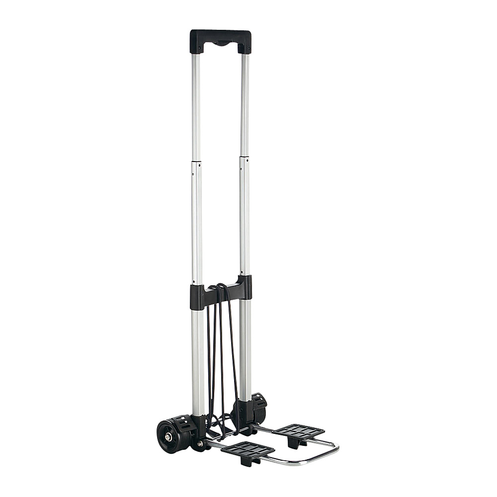 Travel Smart by Conair Compact Folding Multi-Use Cart Silver/Black - Travel Smart by Conair Luggage Accessories