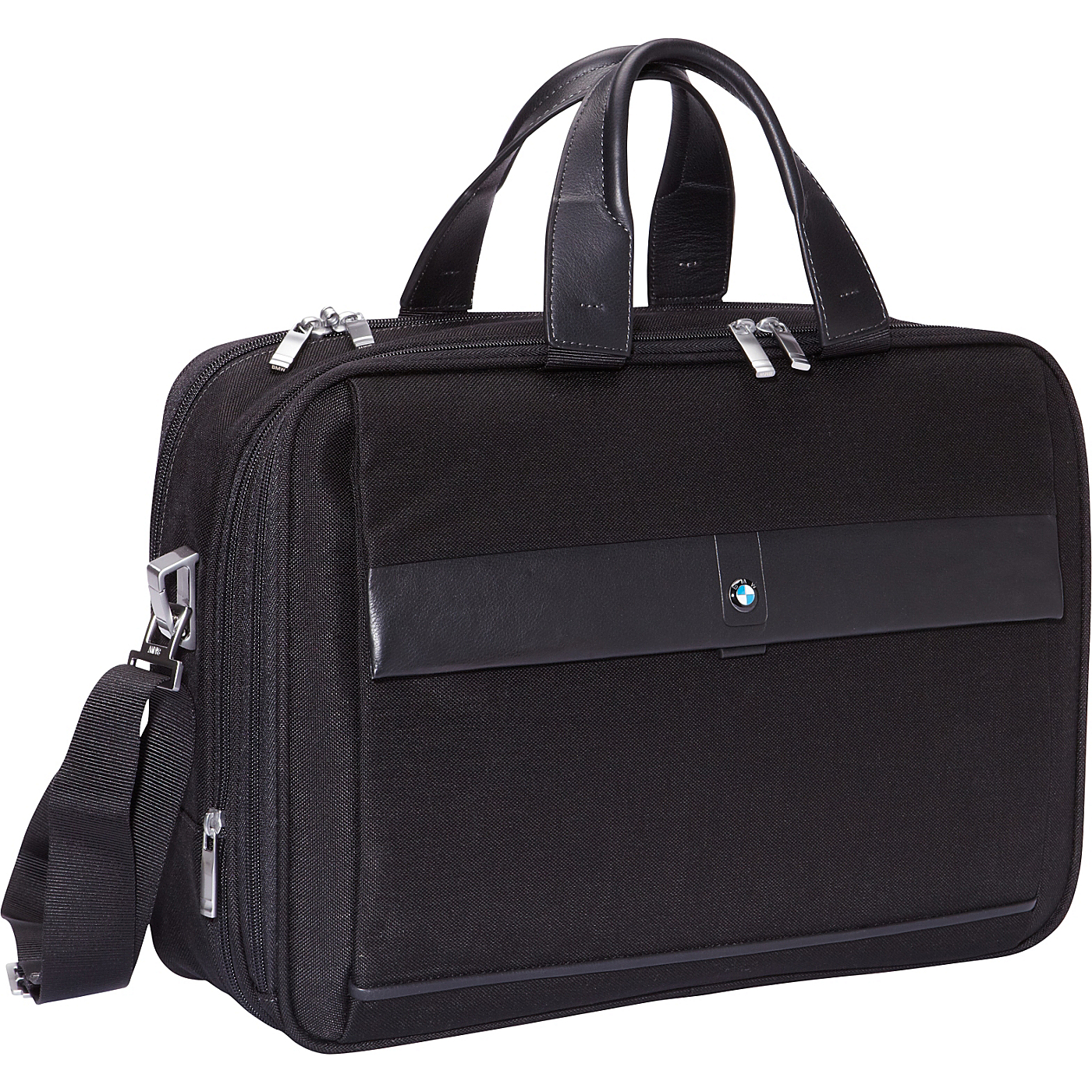 Expandable Toploader Black   BMW Luggage Non Wheeled Computer Cases
