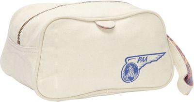 Pan Am PAA Wash Bag Natural - Pan Am Toiletry Kits